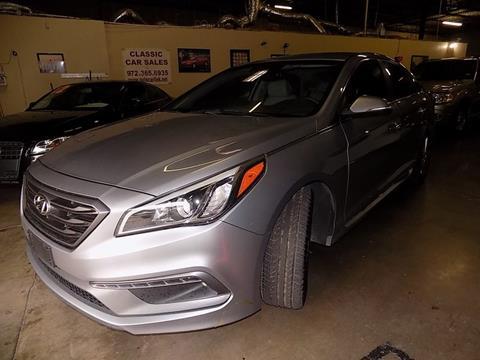 Hyundai Sonata For Sale In Dallas Tx Classic Cars Sales