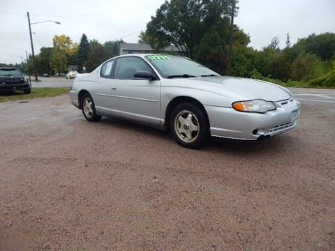 2001 Chevrolet Monte Carlo for sale in Saint Cloud, MN