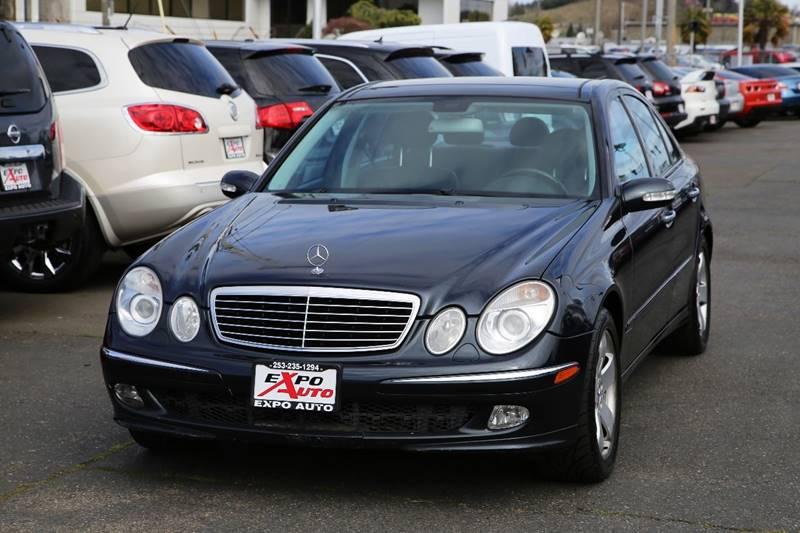 2004 Mercedes Benz E Class For Sale At Expo Auto LLC In Tacoma WA