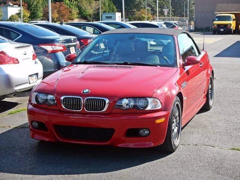 2001 BMW M3 In Tacoma WA - Expo Auto LLC