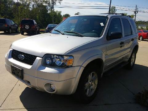 2007 Ford Escape for sale at Nationwide Auto Works in Medina OH