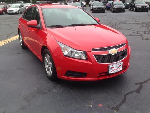 2014 Chevrolet Cruze 1LT Auto & Used Cars Burlington Car Loans Altamahaw NC Browns Summit NC ... markmcfarlin.com