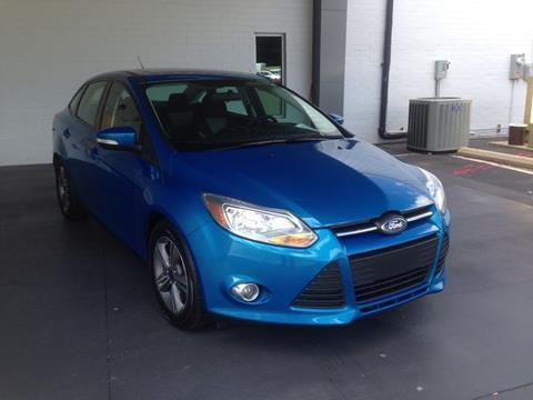 2014 Ford Focus SE & Used Cars Burlington Car Loans Altamahaw NC Browns Summit NC ... markmcfarlin.com