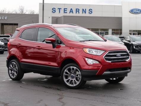 2020 Ford EcoSport for sale at Stearns Ford in Burlington NC