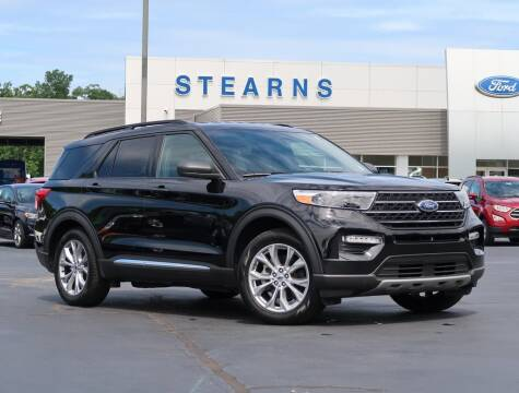 2020 Ford Explorer for sale at Stearns Ford in Burlington NC