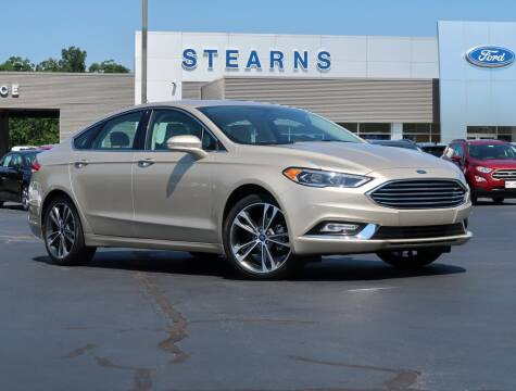 2017 Ford Fusion for sale at Stearns Ford in Burlington NC