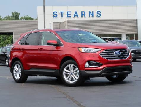 2020 Ford Edge for sale at Stearns Ford in Burlington NC