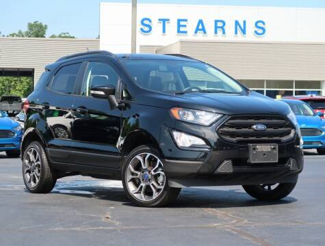 2019 Ford EcoSport for sale at Stearns Ford in Burlington NC