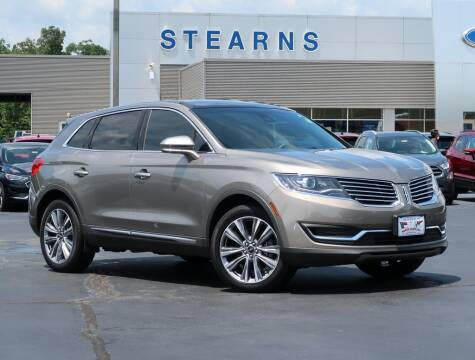 2017 Lincoln MKX for sale at Stearns Ford in Burlington NC