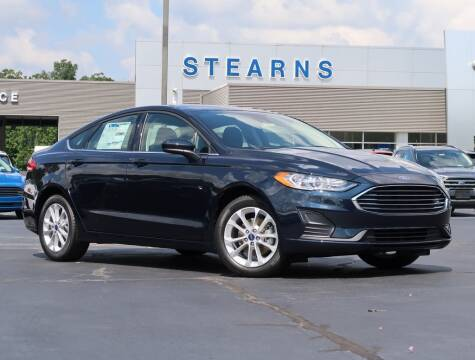 2020 Ford Fusion for sale at Stearns Ford in Burlington NC