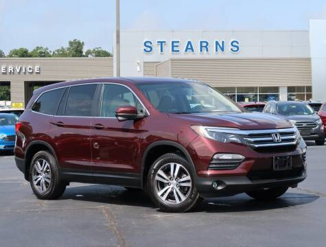 2017 Honda Pilot for sale at Stearns Ford in Burlington NC
