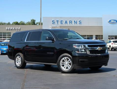 2015 Chevrolet Suburban for sale at Stearns Ford in Burlington NC