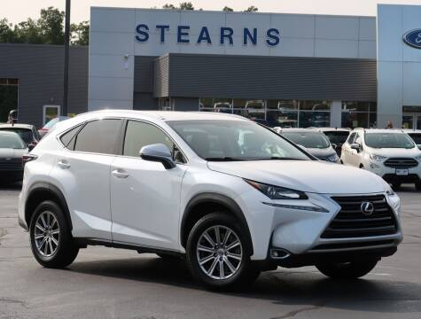 2016 Lexus NX 200t for sale at Stearns Ford in Burlington NC