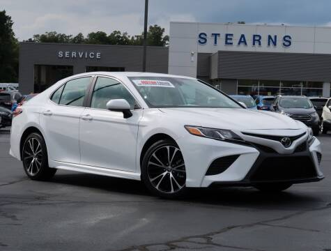 2020 Toyota Camry for sale at Stearns Ford in Burlington NC