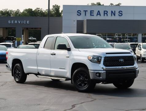2020 Toyota Tundra for sale at Stearns Ford in Burlington NC