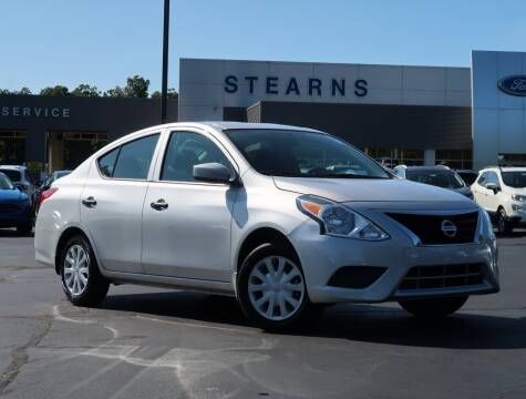 2019 Nissan Versa for sale at Stearns Ford in Burlington NC