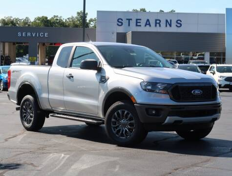 2020 Ford Ranger for sale at Stearns Ford in Burlington NC