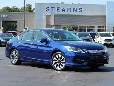 2017 Honda Accord Hybrid for sale at Stearns Ford in Burlington NC
