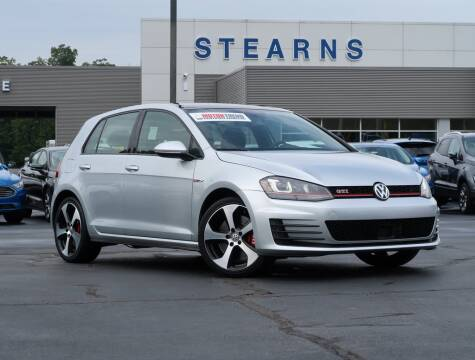 2017 Volkswagen Golf GTI for sale at Stearns Ford in Burlington NC