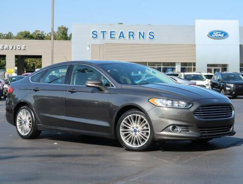 2016 Ford Fusion for sale at Stearns Ford in Burlington NC