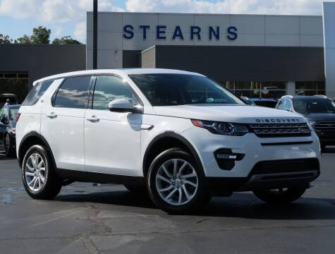 2016 Land Rover Discovery Sport for sale at Stearns Ford in Burlington NC