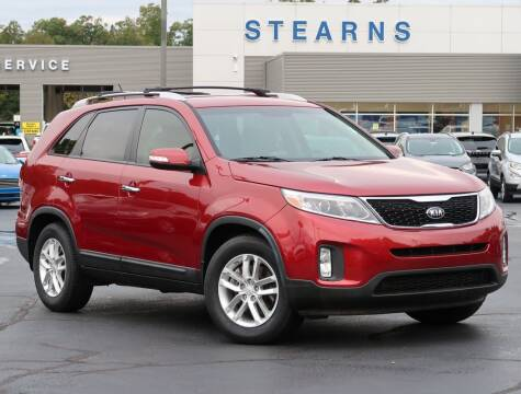 2015 Kia Sorento for sale at Stearns Ford in Burlington NC