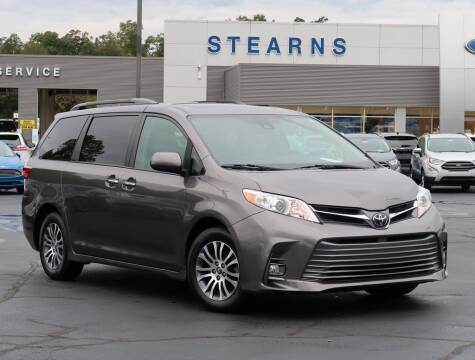 2018 Toyota Sienna for sale at Stearns Ford in Burlington NC