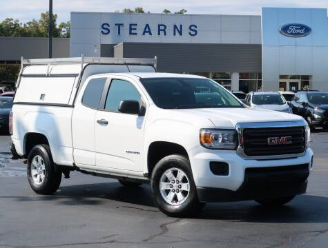 2018 GMC Canyon for sale at Stearns Ford in Burlington NC
