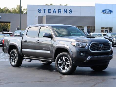 2018 Toyota Tacoma for sale at Stearns Ford in Burlington NC