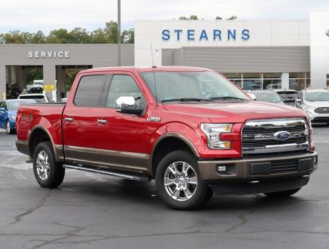 2016 Ford F-150 for sale at Stearns Ford in Burlington NC