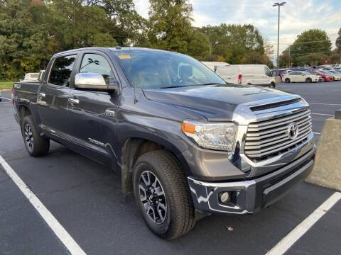 2017 Toyota Tundra for sale at Stearns Ford in Burlington NC