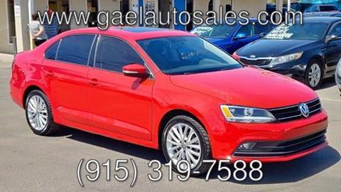 2015 Volkswagen Jetta for sale in El Paso, TX