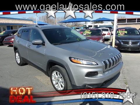 2017 Jeep Cherokee for sale in El Paso, TX