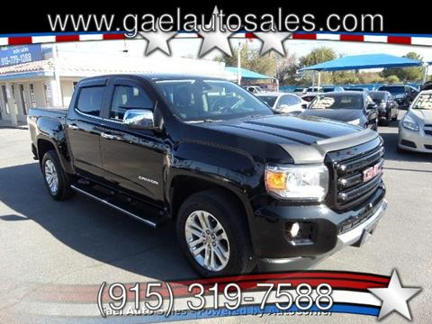 2016 GMC Canyon for sale in El Paso, TX