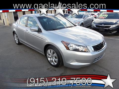 2010 Honda Accord for sale in El Paso, TX