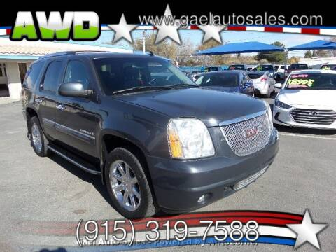 2008 GMC Yukon for sale in El Paso, TX