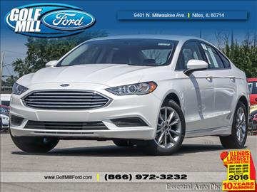 2017 Ford Fusion for sale in Niles, IL