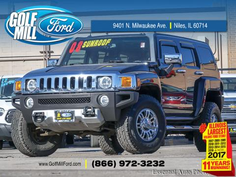 2008 HUMMER H3 for sale in Niles, IL