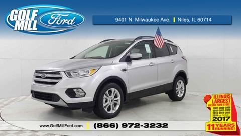 2018 Ford Escape for sale in Niles, IL