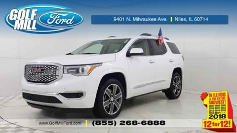 2019 GMC Acadia for sale in Niles, IL