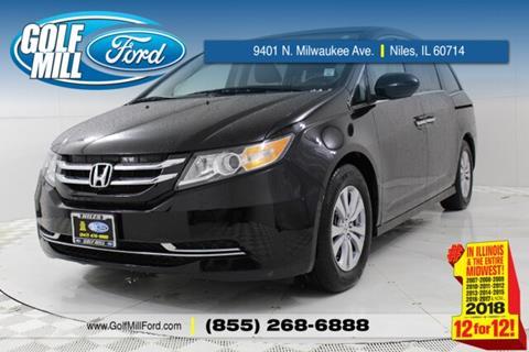 2017 Honda Odyssey for sale in Niles, IL