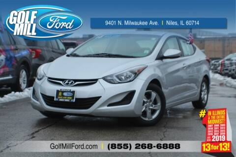 2015 Hyundai Elantra SE for sale at GOLF MILL FORD in Niles IL