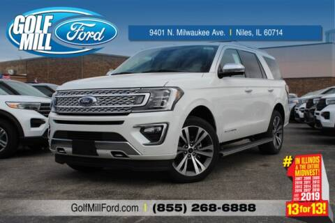 2020 Ford Expedition MAX Platinum for sale at GOLF MILL FORD in Niles IL