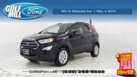 2020 Ford EcoSport SE for sale at GOLF MILL FORD in Niles IL