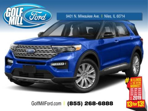 2020 Ford Explorer XLT for sale at GOLF MILL FORD in Niles IL