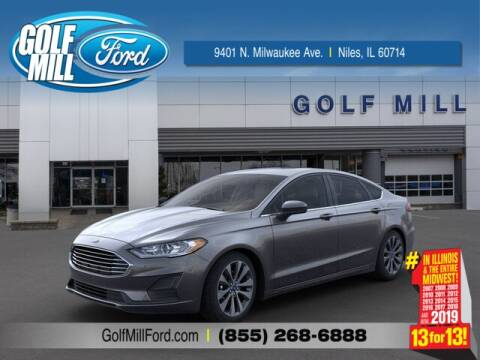 2020 Ford Fusion SE for sale at GOLF MILL FORD in Niles IL
