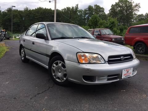 2002 Subaru Legacy for sale at Deals On Wheels LLC in Saylorsburg PA