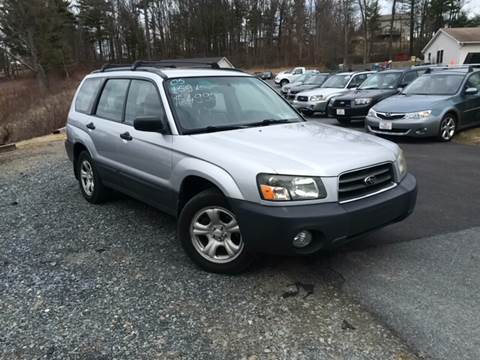 2005 Subaru Forester for sale at Deals On Wheels LLC in Saylorsburg PA