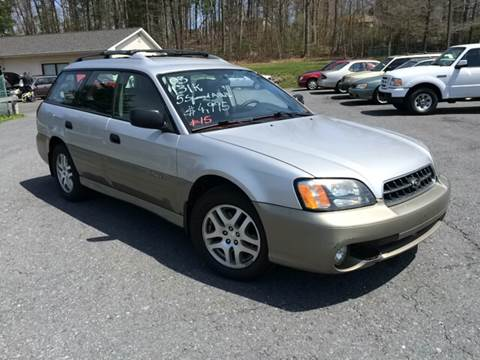 2003 Subaru Outback for sale at Deals On Wheels LLC in Saylorsburg PA