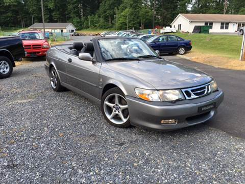 2001 Saab 9-3 for sale at Deals On Wheels LLC in Saylorsburg PA